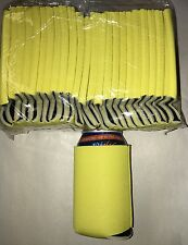 Yellow Blank Lot Of 50 Can Cooler B Day  Koozie Summer Wedding  Sublimation Fun