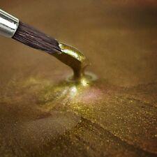 METALLIC FOOD PAINT - HELL GOLD - 25 ml - Essbar Lebensmittel Farbe Rainbow Dust