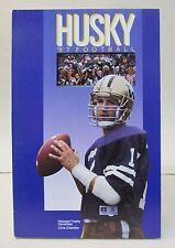 1987 UNIVERSITY WASHINGTON HUSKIES football Media Press Guide