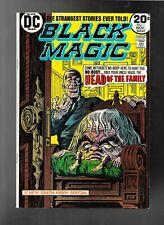 Black Magic 1 1973 DC Joe Simon & Jack Kirby reprints very fine +