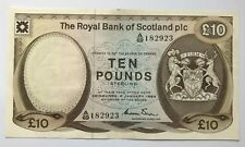 More details for royal bank of scotland £10 dated 1984. winter.