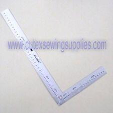 "Lance 12"" X 6"" Half-Size Aluminum L-Square Ruler #LS-012-05"