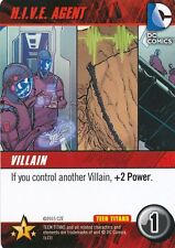 H.I.V.E. AGENT DC Comics Deck Building Game TEEN TITANS card