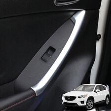 Chrome Interior Door Rear Armrest Cover Trim Strip For Mazda Cx-5 Cx5 2013-2016