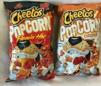 Frito Lay Cheetos Combo Cheddar Popcorn Lot of 2-6 oz Best By 7/14/20