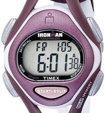 Timex Womens Ironman Sleek Mid-Size Plum Resin Strap Watch T5K007 DISPLAY ITEM