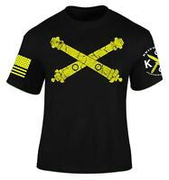 Artillery T-Shirt I Patriot I Veteran I Field Artillery I King of Battle I Army