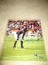 David Wilson Virginia Tech Hokies - Signed 8x10 - #'d 1/100 - New York Giants