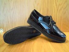 Carvela Ladies Shoes Size 6 Brogues Black Patent Lace Up Kurt Geiger Shoe NEW