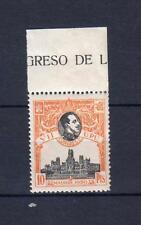 EDIFIL 309 * .    10 PTAS VII CONGRESO DE LA U.P.U.  CON SEÑAL DE FIJASELLOS