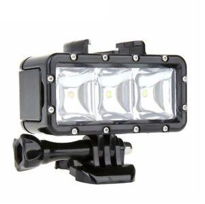 Waterproof LED Light for GoPro HERO 9 8 7 6 5 4 3 2 1 HERO Session MAX