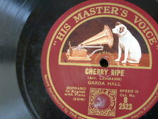 78rpm GARDA HALL cherry ripe / down in the forest