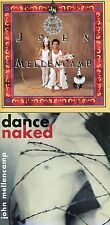 JOHN MELLENCAMP - Lot of TWO CDs- Mr. Happy Go Lucky AND Dance Naked Ships Free!