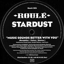 "12"" Stardust - Music Sounds Better With You / original Roulé / Roule305"