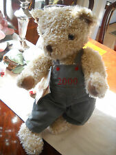 Charter Club 2000 Teddy Bear Rich's Macy's Federated Department Stores Plush Toy