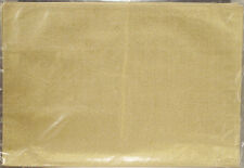 HOLIDAY RECTANGLE SET OF 2 GOLD & IVORY TABLE CENTERS MATS OR PLACEMATS NEW