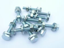 10 BSF Bolts 1/4 x 1 1/2 with Nuts & Washers