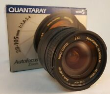 Quantaray 28-105mm f / 3.8-5.4 Autofocus Zoom Camera Lens for Nikon AF SLR DSLR