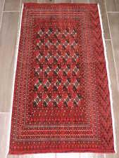 2x4ft. Fine Tekke Turkoman Wool Chuval
