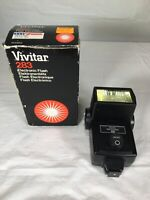 Vivitar 283 Shoe Mount Flash - Please Read