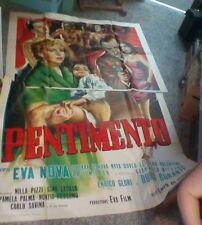 PENTIMENTO manifesto 4F originale 1954