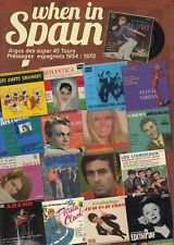 Argus des EP's Pressages Espagnols, Artistes francais1954 -1970 JOHNNY HALLYDAY