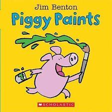 NEW Piggy Paints by Jim Benton