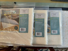 3 Oriental Weavers Sure Grip Non-Slip Rug Pads Cream Fits 2' x 8' NEW
