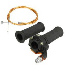 Restrictable Twist Throttle Hand Grip Cable Set For 47cc 49cc Mini Moto Pit Bike