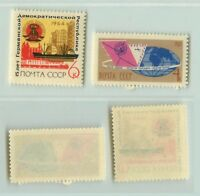 Russia USSR ☭ 1964 SC 2940, 2942 MNH. rta3789