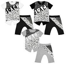 Conjuntos de ropa de niño de 2 a 16 años negro