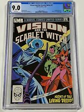 VISION AND THE SCARLET WITCH 1 CGC 9.0 Marvel Comics 11/82 comic