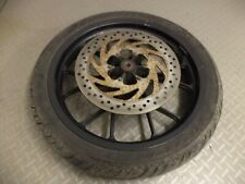 2016 aprilia RS4 RS 4 125 front wheel with good AVON tyre and brake disc
