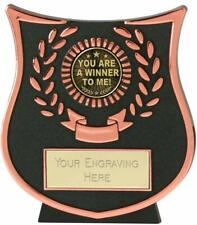 Emblems-Gifts Curve Bronze You Are A Winner To Me Trophy With Free Engraving