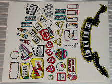 CREATURE FROM THE BLACK LAGOON Pinball Machine Insert Decal Set