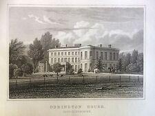 Película para impresión 1831; oddington House, Moreton-in-Marsh, Gloucestershire