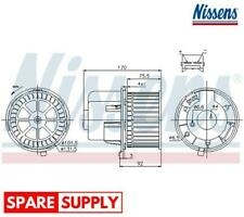 INTERIOR BLOWER FOR FORD NISSENS 87061