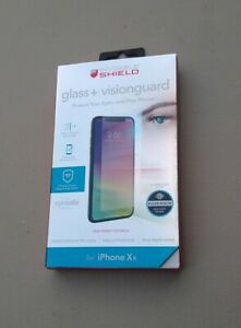 The Blue Light Screening iPhone Shield Tempered Glass Oil-Resistant Coating