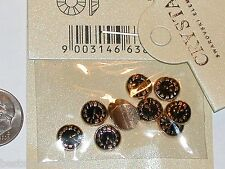 2pc Miniature dollhouse tiny little Time Clock beads rd flat backs findings 7mm