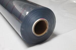 Klarsichtfolie PVC 25 m Rolle Plane/Stärke: 0,8 mm / Breite: 1,40m