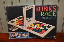 Vintage 1982 Rubiks Race Game By Ideal Complete with Instructions Retro