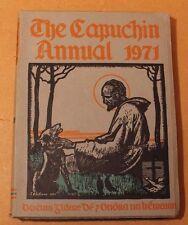 The Capuchin Annual 1971 Irish Annual VGC O.F.M. Cap. Fr. Henry Rare