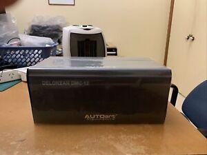 AutoArt Signature 1/18 Matte Black 1981 Delorean DMC-12 (Like New Condition)
