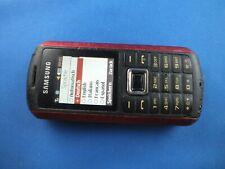 Samsung B2100 Schwarz Rot Simlockfrei Funktionsfähig Kult Unlocked Scarlet Red