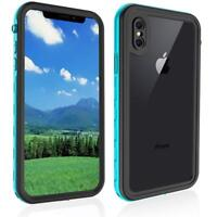 Waterproof Case for iPhone XR, Full-Body Rugged Bumper Cover with Clean Sound, W