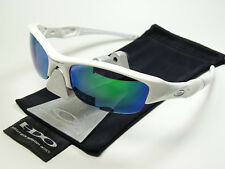 54441a3bb89b75 Oakley Flak Jacket White Jade Sonnenbrille Racing Pit Bull Split Half Beta  Draft