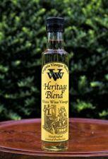 Heritage Blend White Wine Vinegar Handcrafted Limited Production 8.45 fl oz