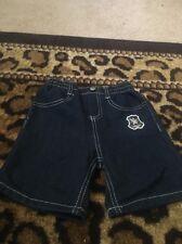 Baby Toddler Boy's Blue Denim Jean Shorts Sz 24 Months MultiColor Blue