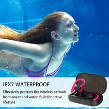 BT 5.0 Dual Headset,TWS, True wireless IPX7 waterproof for iPhone and Android
