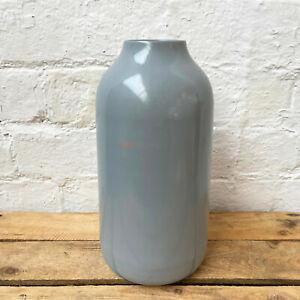 Modern Nordic Pastel Light Grey Home Decor Flower Tall Body Bottle Vase Gift Art